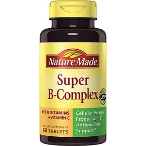 Nature Made Super B Complex Tablets, 60 Count