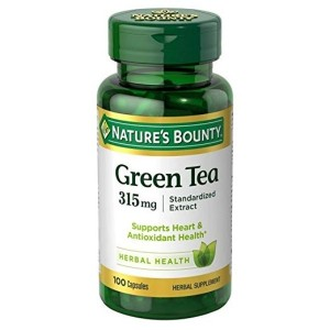 Nature's Bounty Green Tea Extract, 315mg, 100 Capsules