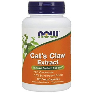 NOW Cat's Claw Extract,120 Veg Capsules