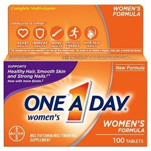 One-A-Day Womens Multivitamin Tablets, 100 Count