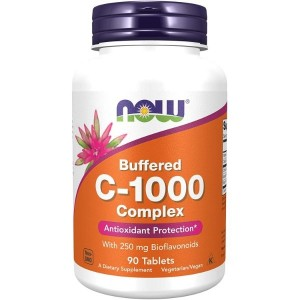 NOW C-1000 Complex 250mg, 90 Tablets