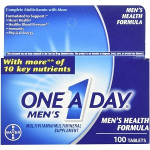 One-A-Day Men's Multivitamin Tablets, 100 Count