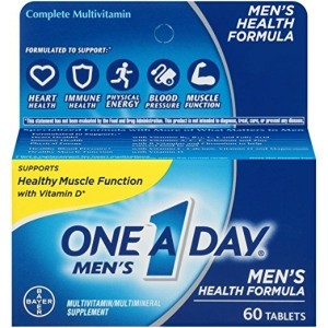 One-A-Day Mens Health Formula Multivitamin, 60 Count
