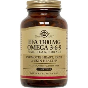 Solgar - EFA Omega 3-6-9 1300 mg, 120 Softgels