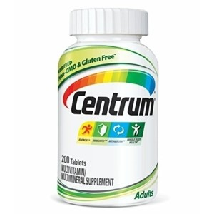 Centrum Adult (200 Count) Multivitamin / Multimineral Supplement Tablet, Vitamin D3