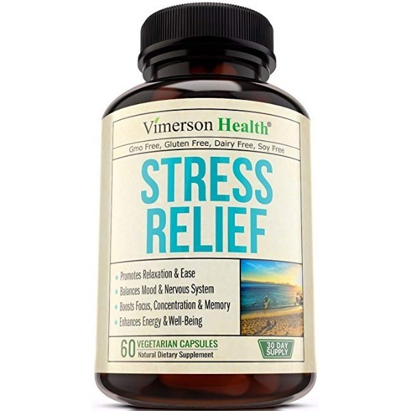 Stress Relief & Anti Anxiety Supplement